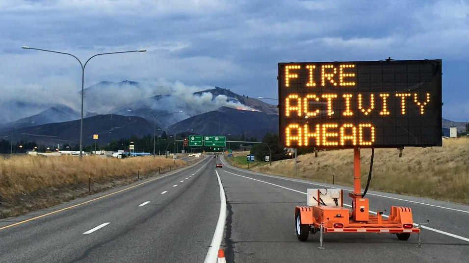 Evacuation levels for the Sleepy Hollow Fire have been lowered