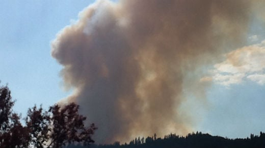 WSP reports two fires are burning in the Colville area.
