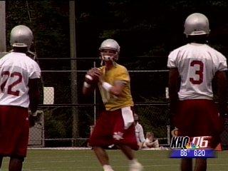 Quarterback Alex Brink