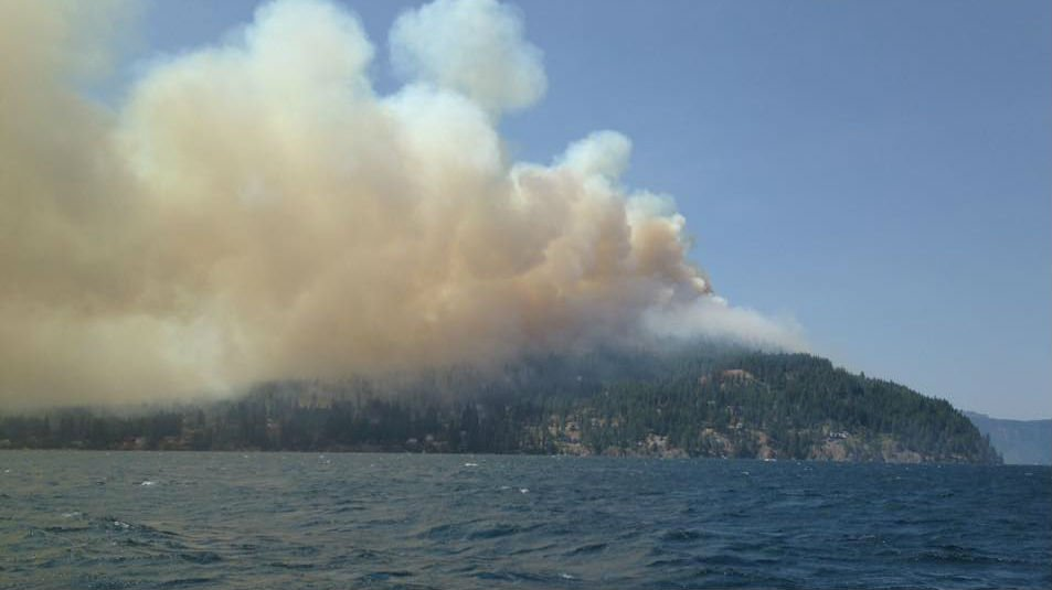 The Cape Horn fire has destroyed multiple homes, and additional structures, and consumed more than two thousand acres. More than one hundred firefighters are battling the blaze and more than 200 residents have been evacuated.