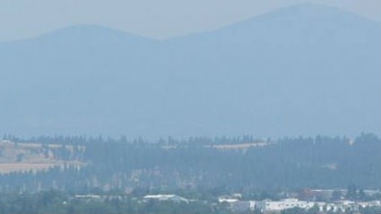 It's hard to miss the smoke in the air this time of year.