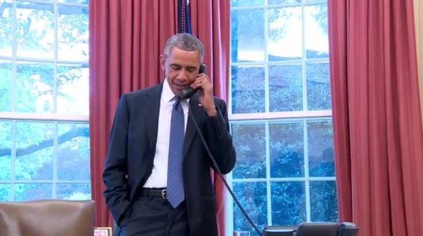 President Obama calls team USA