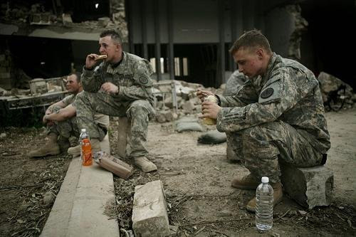Staff Sgt. Chad A. Caldwell (right)