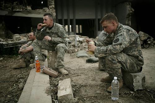 Staff Sgt. Chad A. Caldwell (right)
