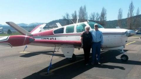 Leland and Sharon Bowman. Photo courtesy WSDOT.