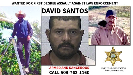 Investigators are analyzing three vehicles associated with David Santos during high-speed pursuits on June 30 and July 3, and a vehicle stolen on July 4.