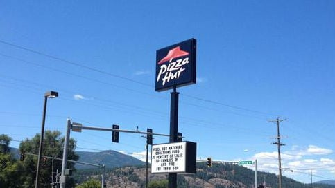 Employees at Pizza Hut in Colville decided they wanted to donate 20 percent of sales made through the weekend to the families.