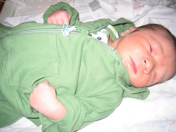 Baby Nicholas Alan - Congratulations, Jessica!