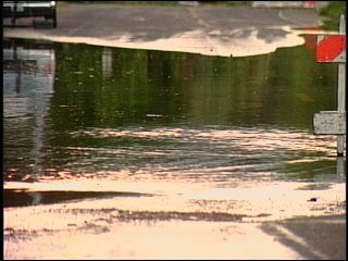 Flooding along Upriver Drive