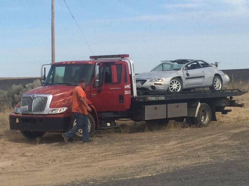 MedStar was called to a rollover crash near Wilbur Thursday morning
