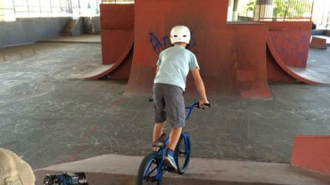 The City of Spokane announced they'll tear down the Under the Freeway skate park early next month due to concerns over grafitti and crime.