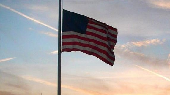 Flags fly at half-staff over weekend to honor fallen Washington Marine