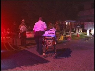 The 2- and 3-year old were taken to Sacred Heart Hospital in critical condition.