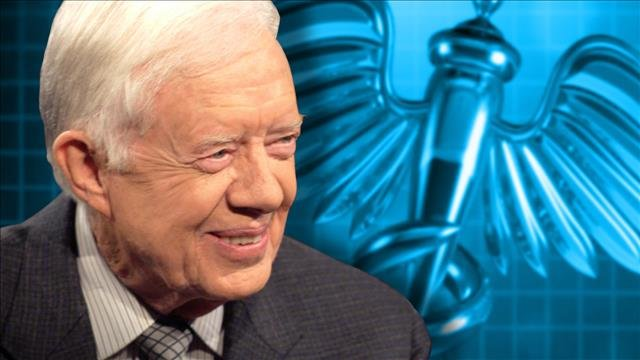 Jimmy Carter's grandson says no cancer was detected the last time the former president underwent a scan.