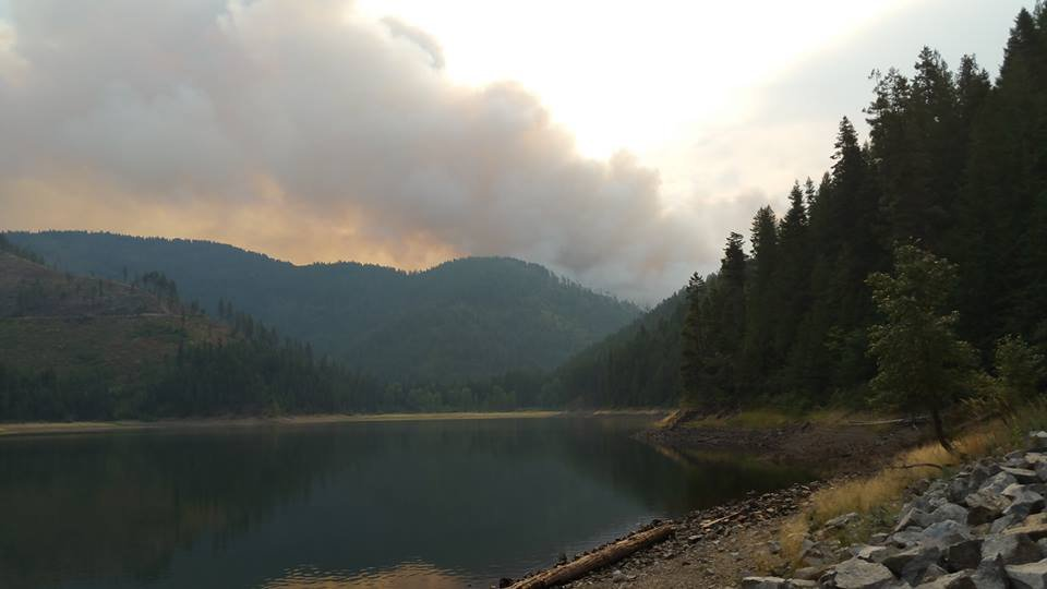 Tower Fire burning in the Colville National Forest forces mandatory evacuations for 3 campgrounds.
