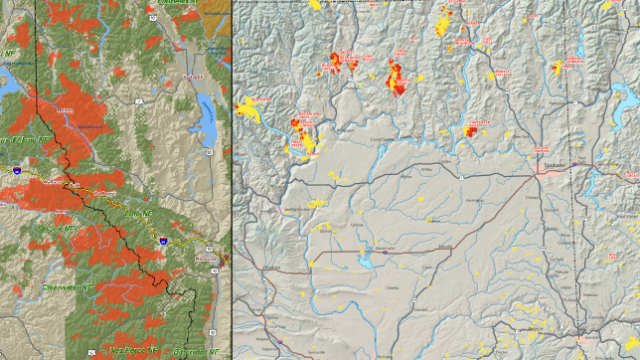 Comparing The 2015 Wildfires To The Big Blowup Of