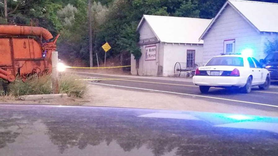 One person is dead after an officer involved shooting in Hunters