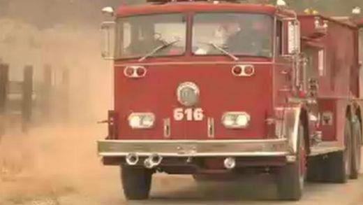 Alex Thomason named his firetruck Clifford.