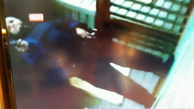 Image of the possible shooter caught on camera