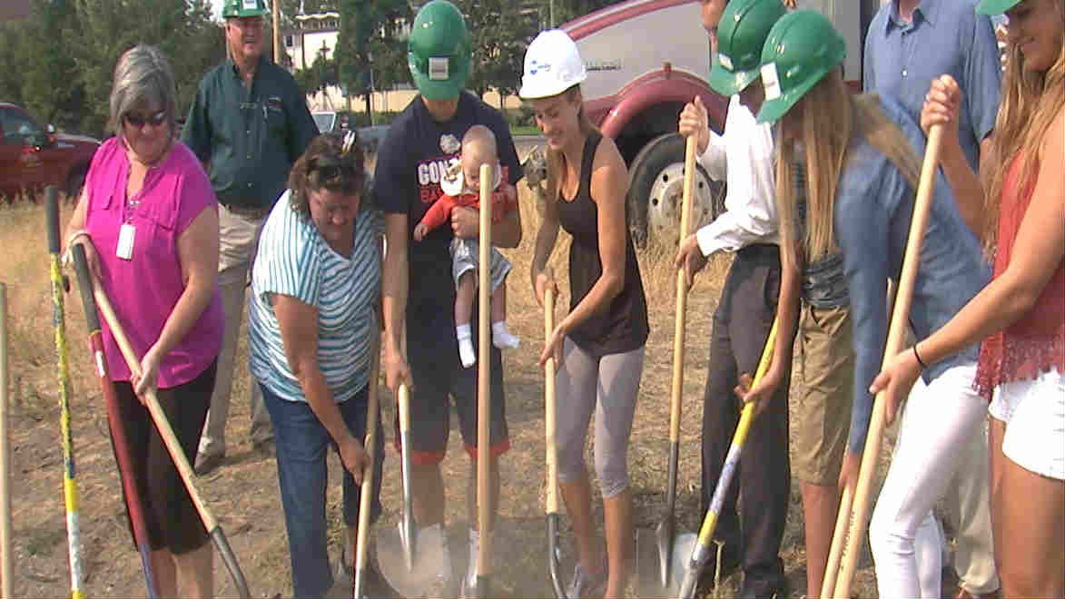 Stockton family breaks ground on new building near Gonzaga ...