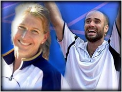 Steffi Graf and Andre Agassi canceled plans to purchase property at Tamarak Resort in Western Idaho