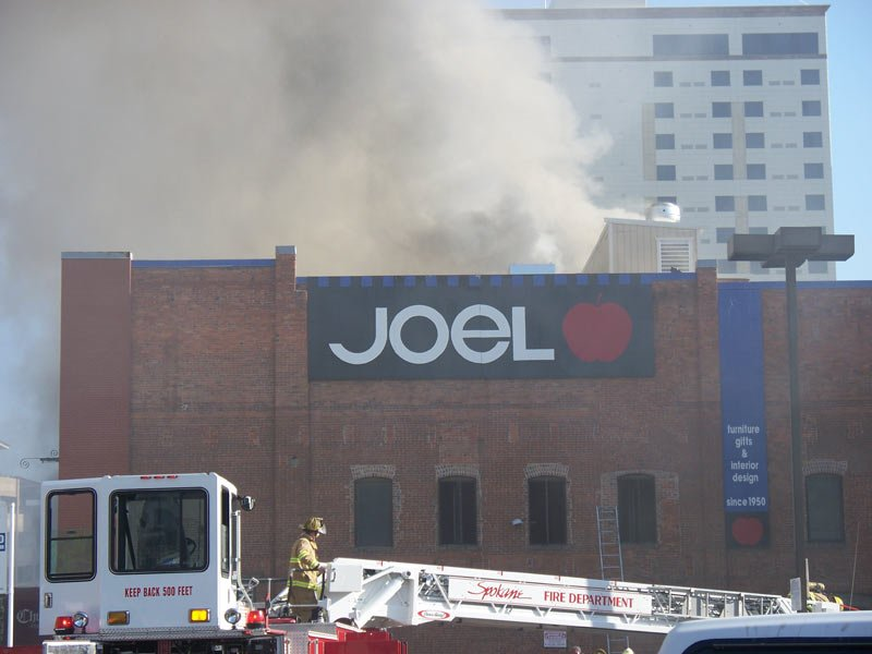 The Joel Building was built in 1899 at a cost of $8,000 for a company that dealt in wholesale grocery