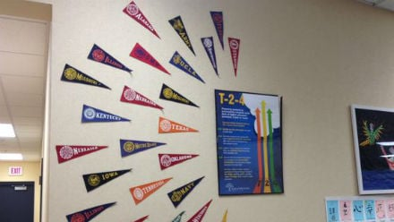 The T-2-4 program encourages students to consider higher education