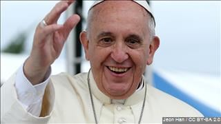 Pope Francis delivered a speech to sex abuse victims in a private meeting Sunday