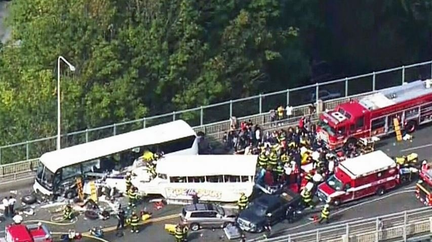 A fifth international college student has died following last week's crash of a charter bus and an amphibious tour vehicle, or duck boat, in Seattle.