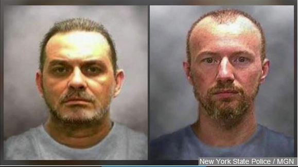 Richard Matt and David Sweat broke out of the maximum-security Clinton Correctional Facility June 6.