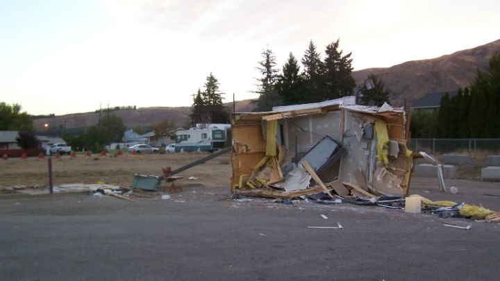 Clark Tellvik of Yakima was arrested in connection to this bank heist on September 13 in Entiat