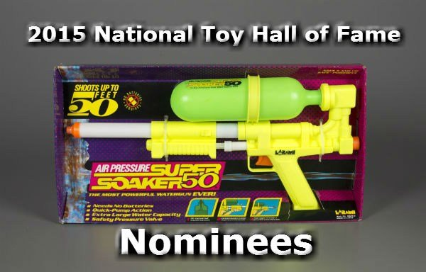 The Super Soaker is one of many toys up for induction into the National Toy Hall of Fame (PHOTO: Courtesy of The Strong, Rochester, New York.)