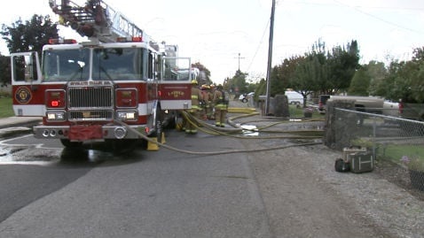 Fire crews quickly put out a house fire in Spokane Valley.