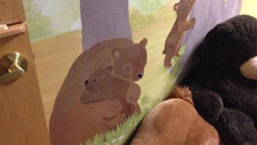 Special mural at Vanessa Behan nursery.