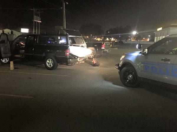 Sergio De Leon's stolen truck was returned to him Monday.
