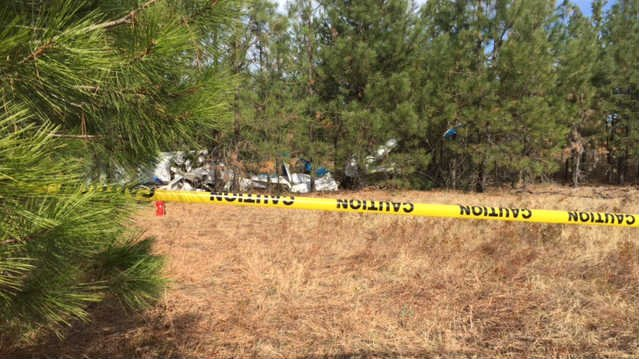 79-year-old George Bell was killed in this crash near the Deer Park airport on October 2, 2015