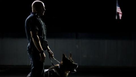 Officer Lesser and K9 Rav. Photo: SPD