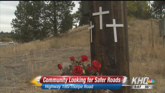 A memorial still sits at the Thorpe and Hwy 195 intersection remembering the three women who lost their lives in a wreck over Labor Day weekend.