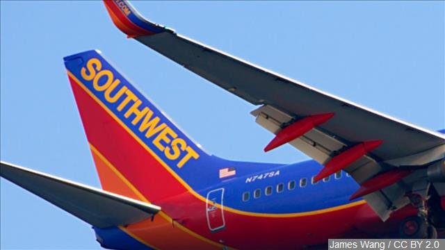 Southwest Airlines says technology issues have delayed some flights as airline employees have to process travelers manually as they arrive at airports.