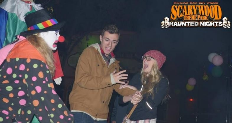 Scarywood is open every Thursday, Friday and Saturday night until October 30
