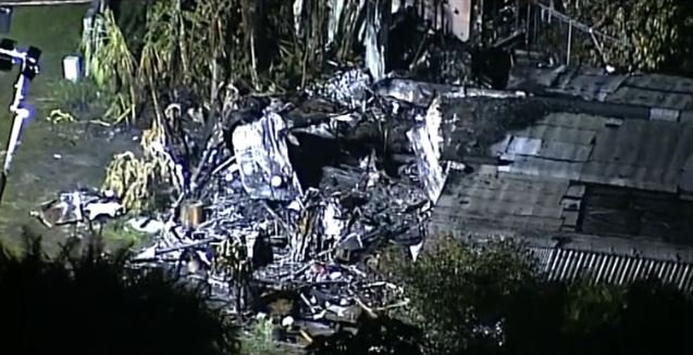 Investigator: 2 killed when plane crashed into mobile home; 1 death was pilot, other in home.