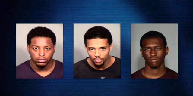 Twenty-four-year-old Paul Farr and 20-year-old Carl Barrett were arrested on October 14 in Milwaukee. The third suspect, 23-year-old Arlis Gordon, was arrested in suburban Chicago on October 17 on unrelated charges.