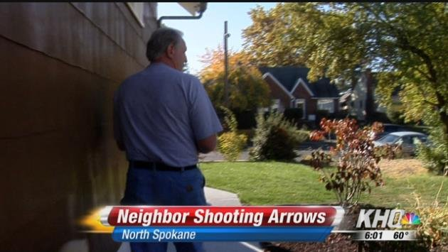 Terry Groh shot cell phone video of the shooting very close to his backyard.