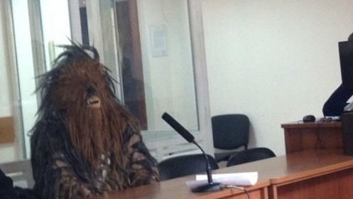 How do you plead? *Chewbacca noise* Photo: Twitter