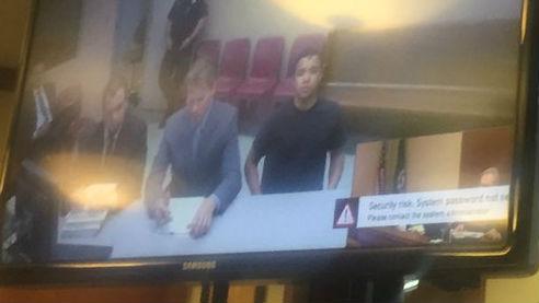 glastonbury accused running ring court