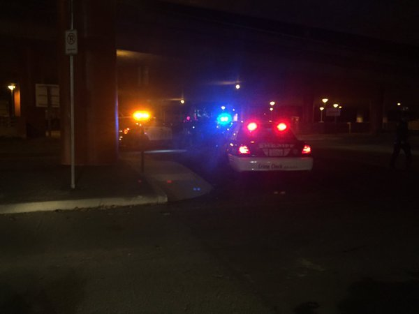 Police investigate possible road rage incident.