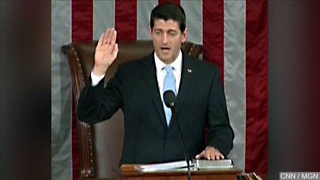 It's official: Republican Rep. Paul Ryan of Wisconsin will be the new speaker of the House.