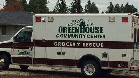 The folks at the Greenhouse Community Center food pantry in Deer Park have had office supplies stolen, even cars, but never food.