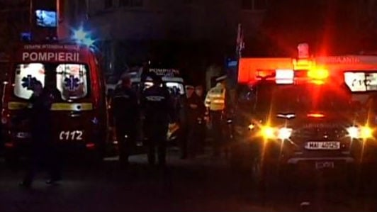 An explosion and ensuing flames on a stage at a Bucharest, Romania, nightclub has killed at least 27 people.