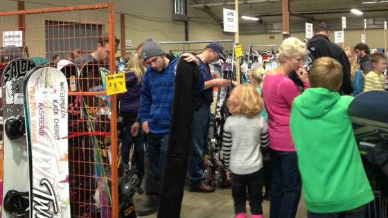 2015 Ski Swap ends Sunday.